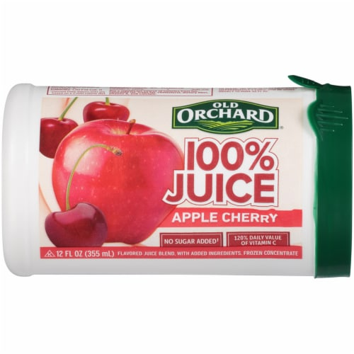 Old Orchard Apple Cherry Juice Concentrate Perspective: front