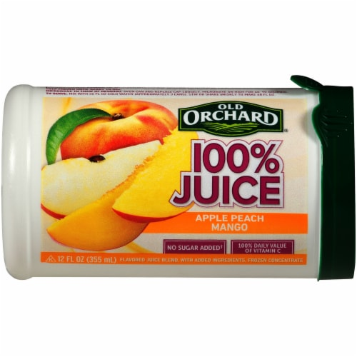 Old Orchard Apple Passion Mango Juice Concentrate Perspective: front