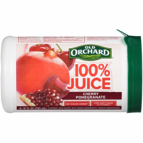 Old Orchard Cherry Pomegranate Juice Concentrate Perspective: front