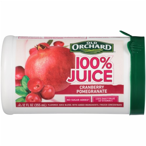 Old Orchard 100% Cranberry Pomegranate Flavored Juice Blend Perspective: front