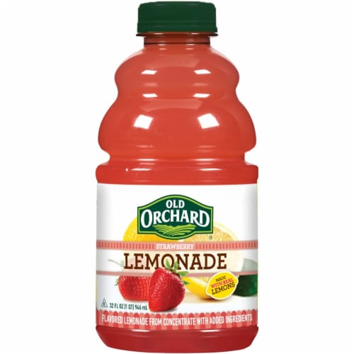 Old Orchard Strawberry Lemonade Perspective: front