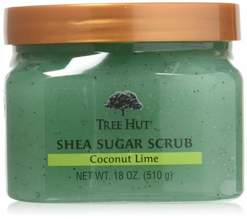Tree Hut Shea Coconut Lime Sugar Body Scrub Perspective: front