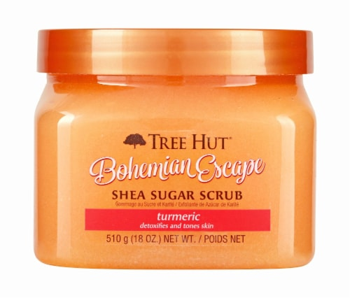 Tree Hut Bohemian Escape Shea Sugar Scrub Perspective: front