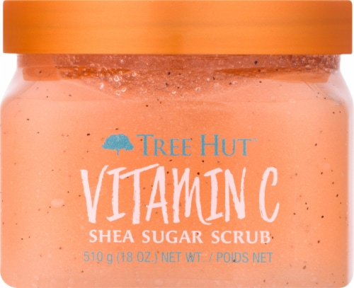 Tree Hut Vitamin C Shea Sugar Scrub Perspective: front