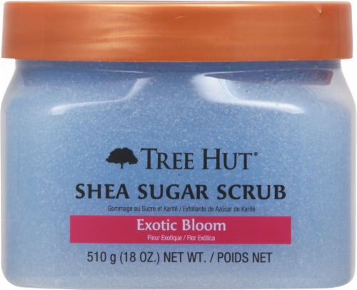 Tree Hut Exotic Bloom Shea Sugar Scrub Perspective: front