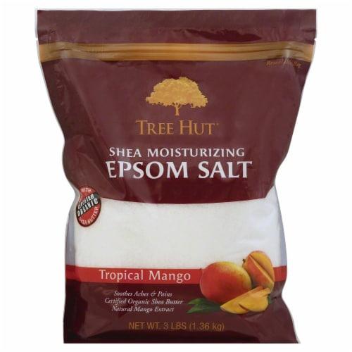 Tree Hut Shea Moisturizing Tropical Mango Epsom Salt Perspective: front