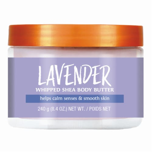 Tree Hut Lavender Whipped Body Butter Perspective: front