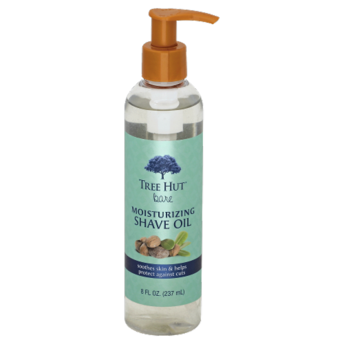 Tree Hut Bare Moisturizing Shave Oil Perspective: front