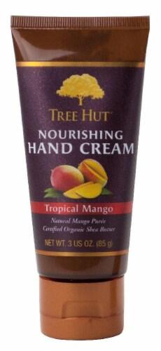Tree Hut Tropical Mango Nourishing Hand Cream Perspective: front
