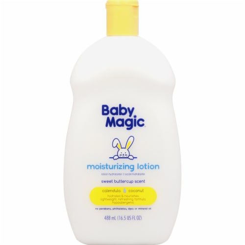 Baby Magic Sweet Buttercup Scent Moisturizing Lotion Perspective: front