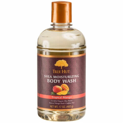 Tree Hut Shea Moisturizing Tropical Mango Body Wash Perspective: front
