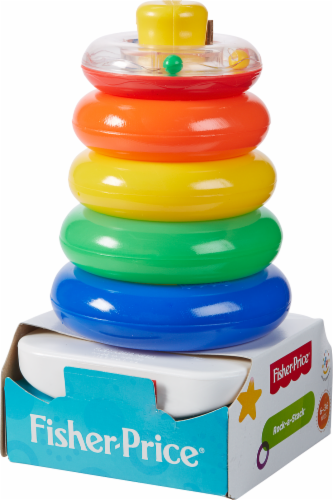 Fisher-Price® Brilliant Basics Rock-a-Stack Ring Puzzle Perspective: front