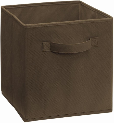 ClosetMaid Cubeicals Fabric Storage Bin - Canteen Perspective: front