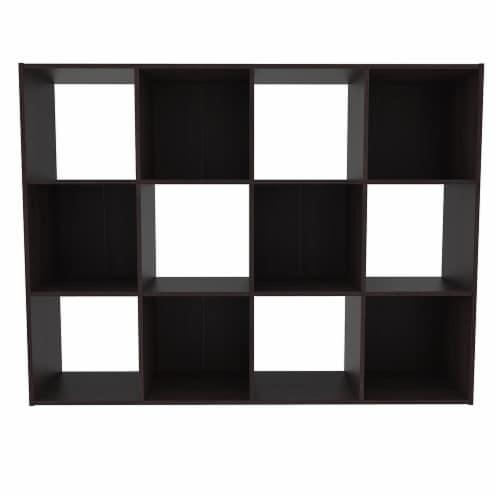 ClosetMaid Cubeicals 12-Cube Storage Organizer - Espresso Perspective: front