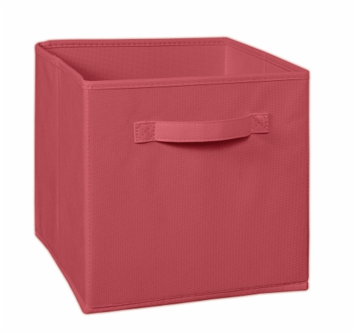 ClosetMaid Garnet Fabric Drawer - Red Perspective: front