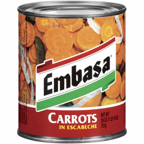 Embasa In Escabeche Carrots Perspective: front