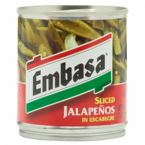 Embasa Sliced Jalapeno Peppers Perspective: front