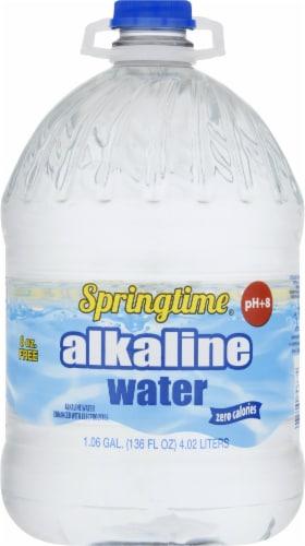 Springtime Alkaline Water Perspective: front