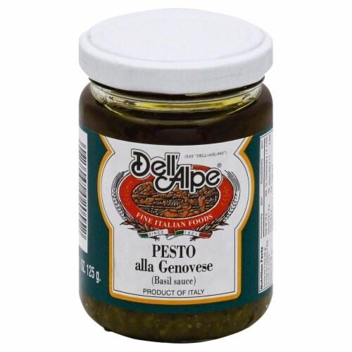 Dell'Alpe Pesto alla Genovese Basil Sauce Perspective: front