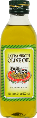 Dell'Alpe Extra Virgin Olive Oil Perspective: front