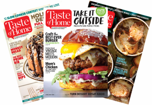 Taste of Home Magazine Perspective: front