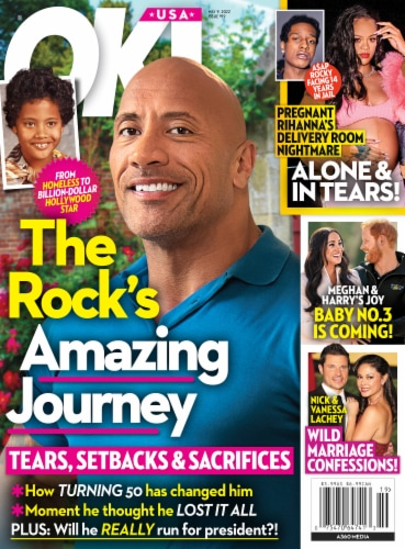 OK Magazine Perspective: front