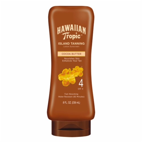 Hawaiian Tropic Dark Tanning Lotion SPF 4 Perspective: front