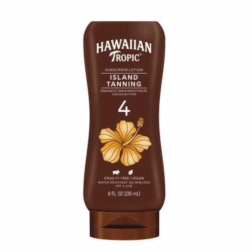 Hawaiian Tropic Hawaiian Tropic Dark Tanning Lotion SPF 4 Perspective: front