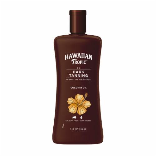 Hawaiian Tropic Dark Tanning Oil Perspective: front