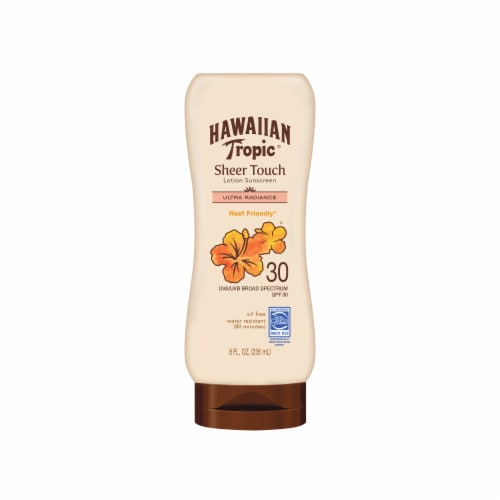 Hawaiian Tropic Sheer Touch Ultra Radiance Sunscreen Lotion SPF 30 Perspective: front