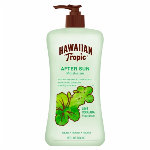 Hawaiian Tropic Lime Coolada After Sun Moisturizer Perspective: front
