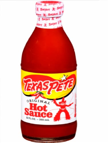 Texas Pete Original Hot Sauce Perspective: front