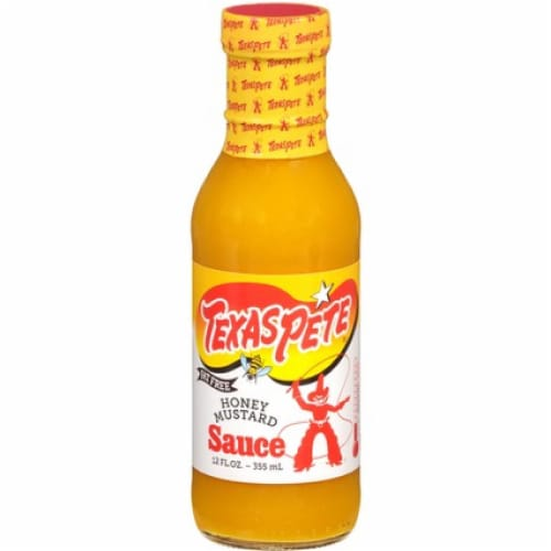 Texas Pete Honey Mustard Sauce Perspective: front