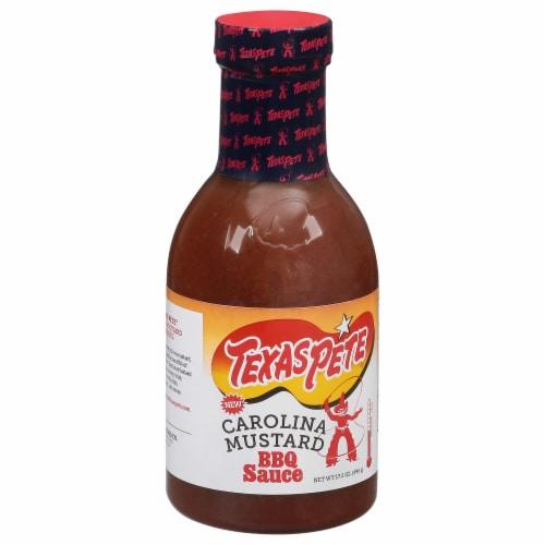 Texas Pete Carolina Mustard BBQ Sauce Perspective: front