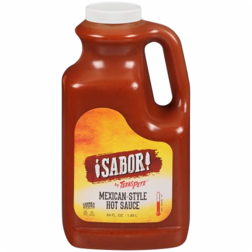 Texas Pete Sabor! Mexican-Style Hot Sauce Perspective: front