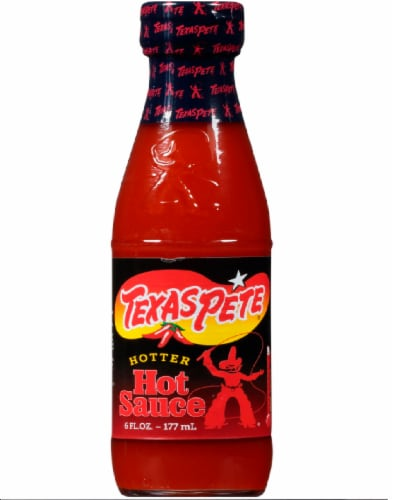 Texas Pete Hotter Hot Sauce Perspective: front