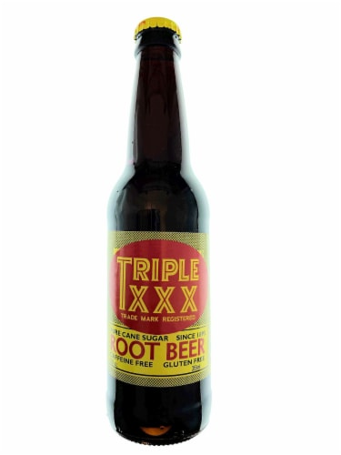 Triple XXX Root Beer Perspective: front