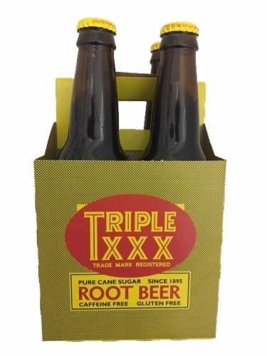Triple XXX Root Beer Perspective: front
