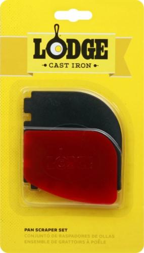 Lodge Scraper Combo Set - Red/Black Perspective: front