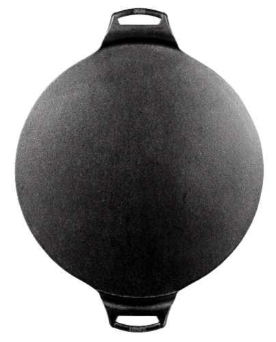 Lodge Cast Iron Pizza Pan Perspective: front
