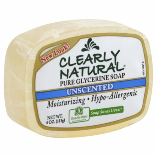 Clearly Natural Glycerin Bar Perspective: front