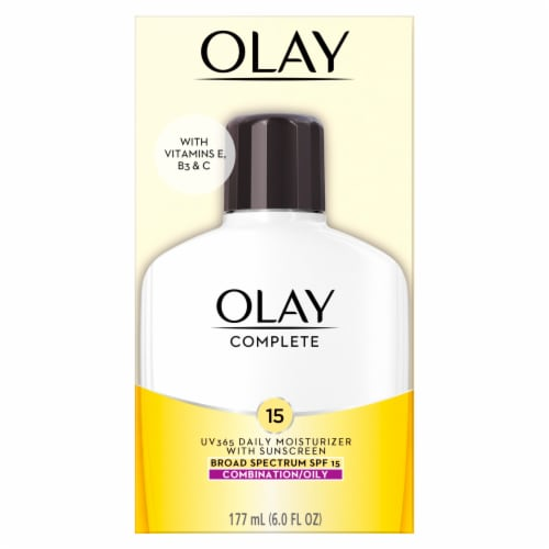 Olay Complete Daily Moisturizer with SPF 15 Perspective: front