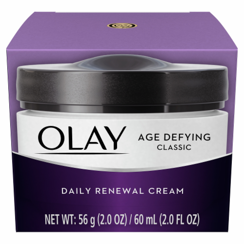 Olay Age Defying Classic Daily Renewal Face Cream Perspective: front