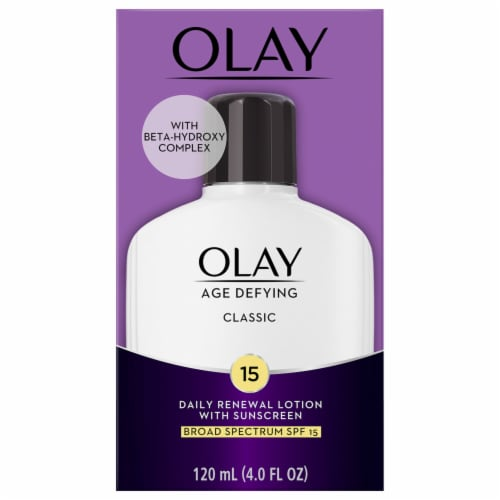 Olay Age Defying Classic Daily Renewal Lotion with SPF 15 Perspective: front