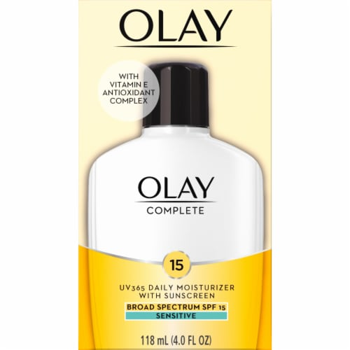 Olay Complete Face Lotion Moisturizer with SPF 15 Sensitive Perspective: front
