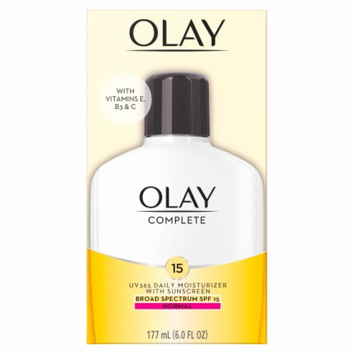 Olay Complete Normal Daily Face Moisturizer SPF 15 Perspective: front