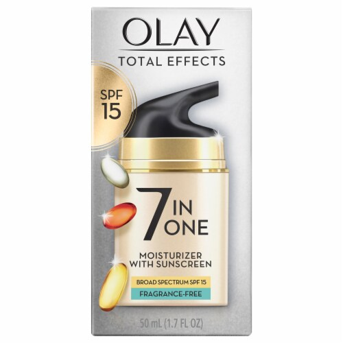 Olay Total Effects 7-In-1 Fragrance-Free Anti-Aging Face Moisturizer with SPF 15 Perspective: front