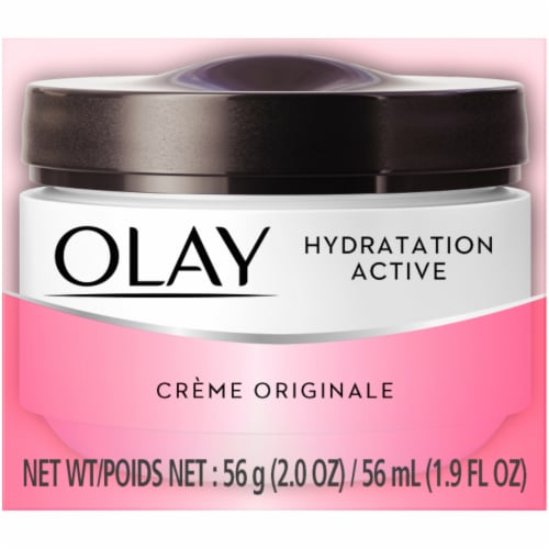 Olay Active Hydrating Original Face Cream Perspective: front