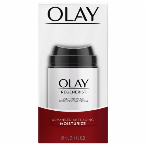 Olay Regenerist Advanced Anti-Aging Deep Hydration Regenerating Face Cream Perspective: front