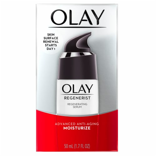 Olay Regenerist Advanced Anti-Aging Regenerating Serum Perspective: front